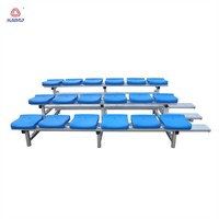 Outdoor event gym bleachers retractable folding stadium bleacher seats chairs used bleachers for sale