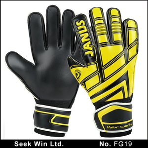 3mm German Latex Palm Goalkeepers Gloves Sports Soccer Goalies Gloves Natural Grip Goal keeper Gloves