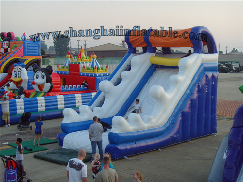 Good quality Factory supply giant inflatable water slide ...