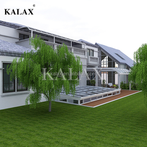 Aluminum Terrace awnings /polycarbonate awnings canopy for balcony