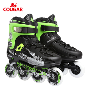 2018 Popular china suppliers power slide quad skate roller inline skate shoes