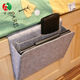 Alibaba Express China Suppliers Multi pocket bedside caddy space saving Hanging felt bedside organizer
