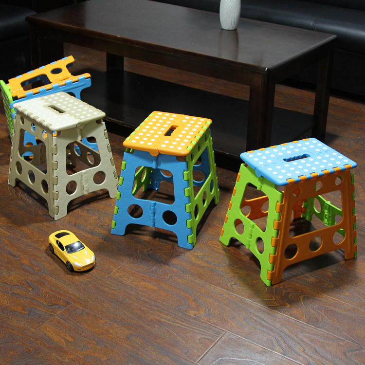 Hot Sale New Design Household Multifunctional plastic Folding Stools