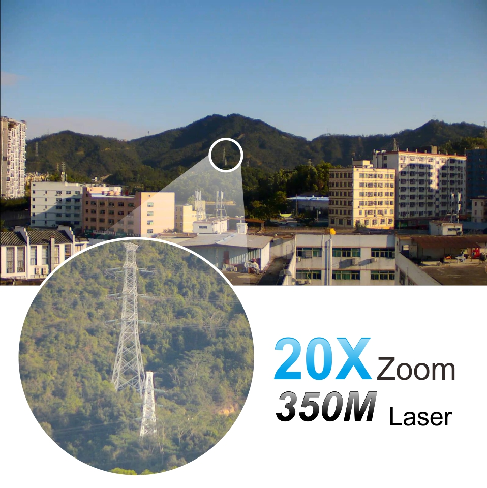 3D function Laser 350M Starlight Face zoom Tracking HD IP High Speed Dome Camera