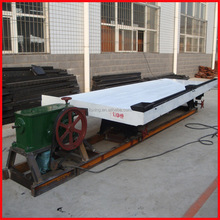 BF Series shaker table for gold ore concentrating