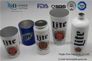 NB-PACK Custom shape fanny metal beer mug/cans/cup/tumbler