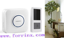 Forrinx direct supply wireless doorbell 433 MHZ wireless range 900 ft in open air 100~500 ft with doors and walls CE