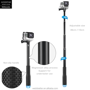 Factory price New Aluminum Wireless selfie stick tripod extendable kits for camera and cell phones