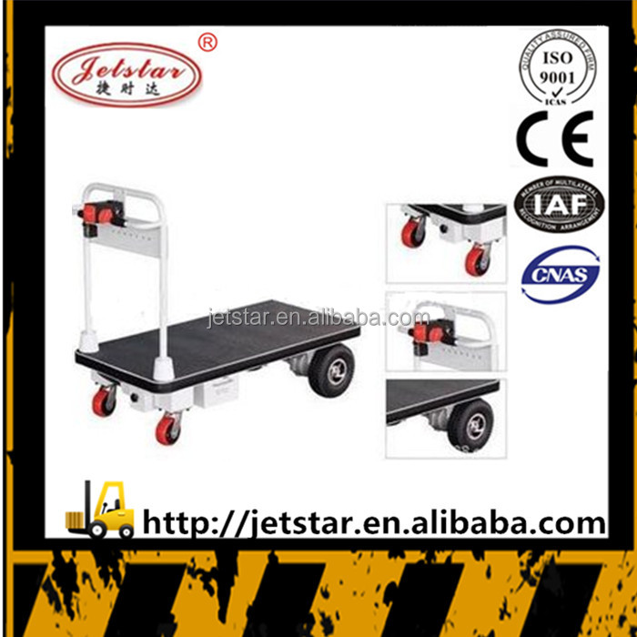 cheap 500kg battery operated hydraulic platform trolleys