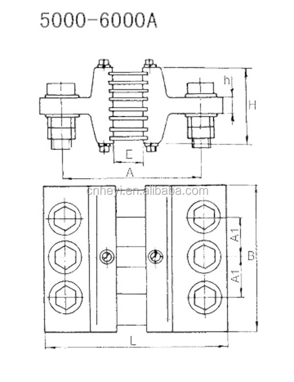 Shunt Class 0 5 Fl 13 5000a 6000a Resistor Dc Amp Meter Shunt