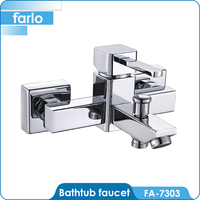 FARLO Brass chrome singl handle bathtub faucet repair