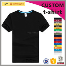 custom plain black t shirts for promotional