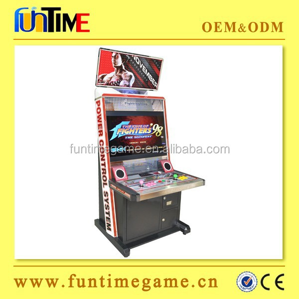 Hotselling aracde fighting sitck games machines, tekken, street fighter IV and king of fighter 98 for option