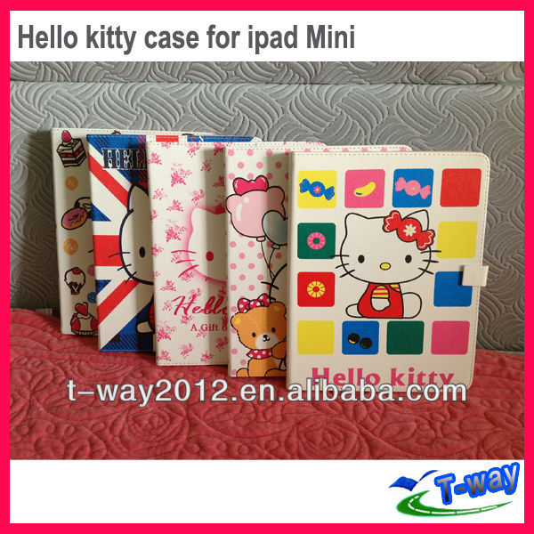 New arrival for hello kitty ipad mini case