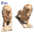 Natural stone marble lion statues for sale NTBA-005Y