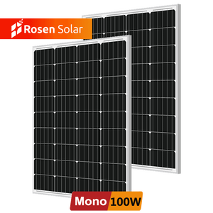 Cheapest Price Best Quality Mono 100 Watt Solar Panel 110W 120W 130W 140 Wp 100Wp