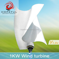 48v 1kw rooftop wind turbines residential