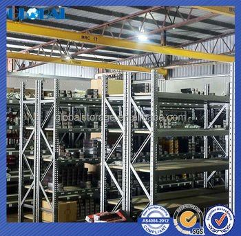 High Quality French technoloty power coated longspan shelving