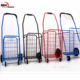 kids hand pull trolley grocery shopping cart