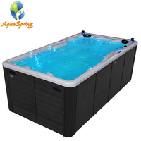 outdoor whirlpool spa hydro swimming massage pool