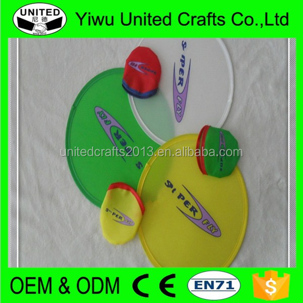 Low Price Customized dog frisbee launcher with Pouch