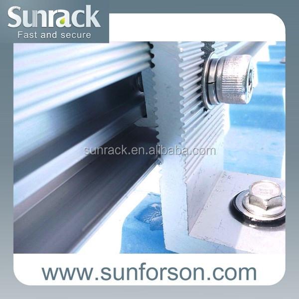 Pannello Solare Per Tetto Auto : Pannello solare l staffe per tetto di montaggio altri