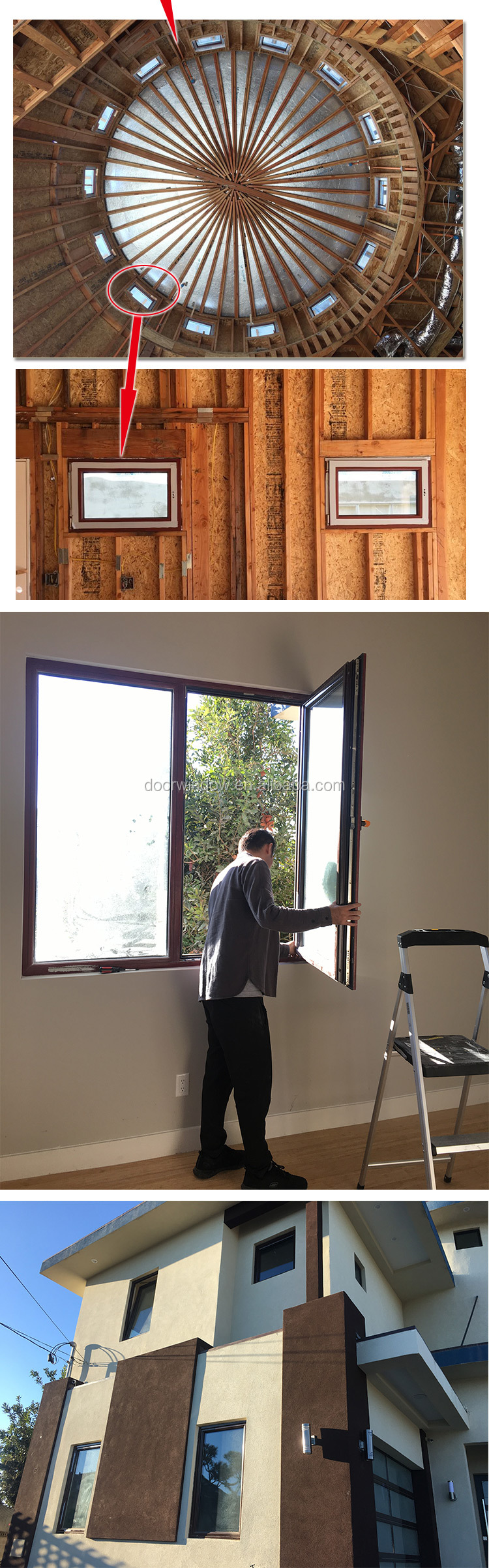 Wholesale replacing old windows with new