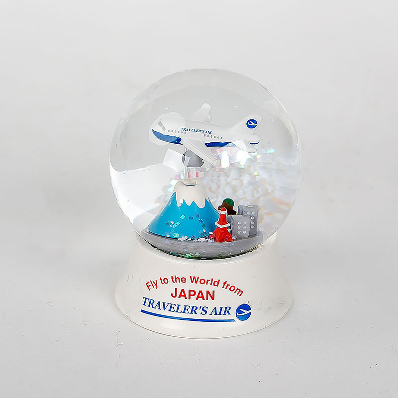 100mm Pink Resin Astronaut Inner View Snow Globe Gifts Souvenirs For Promotion Resin Globe Kit Custom