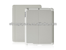Folio stand case for ipad of apple ipad 2 3 4 with sleeping function from China manufacturer