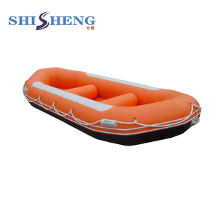 2019 Year PVC 8 persons Self draining reinforced Inflatable River Raft For  Sale