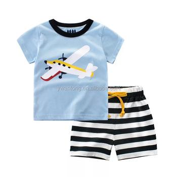 e95cfdeb3 Baby Boys Clothing Sets Summer Baby Boy Clothes Suits Short Sleeve Cute  Print T-shirt
