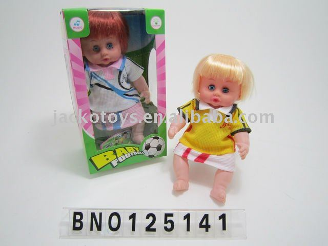 HAPPY DOLL W/MUSIC,FLASH LIGHT.FOOTBALL BABY