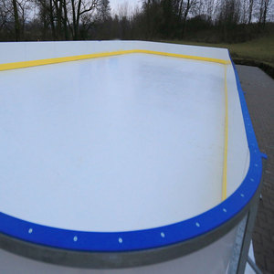 Customized skating rink / portable roller skating rink / synthetic ice rink hockey board