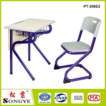 Study Table Chair Sets Fixed School