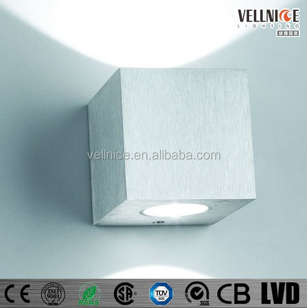 Square Interior Led Wall Light / Small Size Indoor Led Wall Light ...