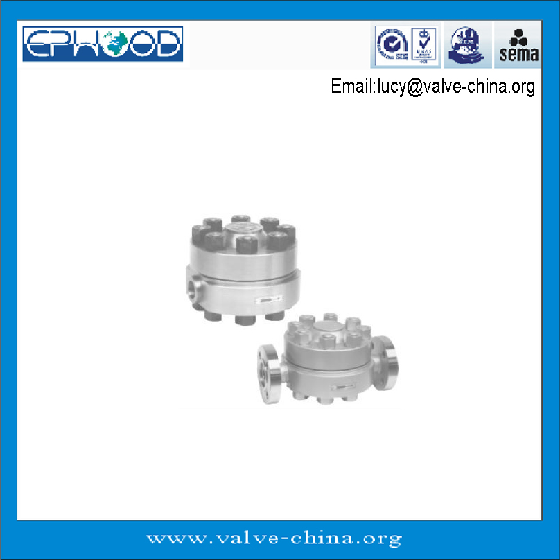 High-temperature/High-pressure Disc Type Flange Steam Trap