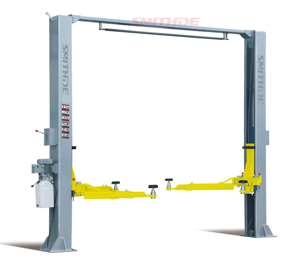 Single Hydraulic Automotive Lifts : Smithde smd pro twin post car lift single