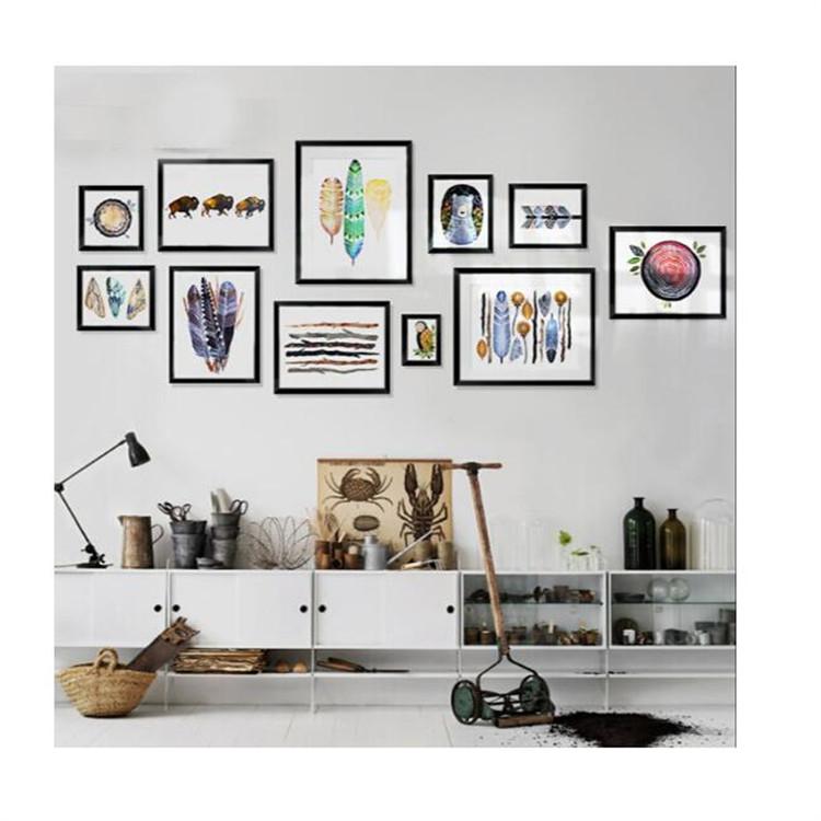 A3 a4 nouveau design noir image maison cadre 2016 creative d coration mur cadre photo id de - Cadre photo a3 ...