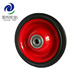 Supply iron wheels 5 inch/small metal wheels/solid rubber wheels for small trailer