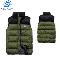 Wholesale Fitness Apparel Manufacturer Padded Vest Down Jacket For The Winter