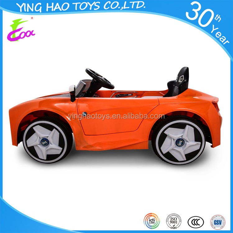 Real Driving Kids Toy Car Battery Operated Ride On Car Electric RC Control Ride On Toy Car