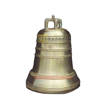 large bronze sculpture temple bell