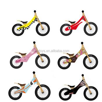 Best Buy Pneumatic Wheels Bike Wooden Folding Bicycle Kids Bike For