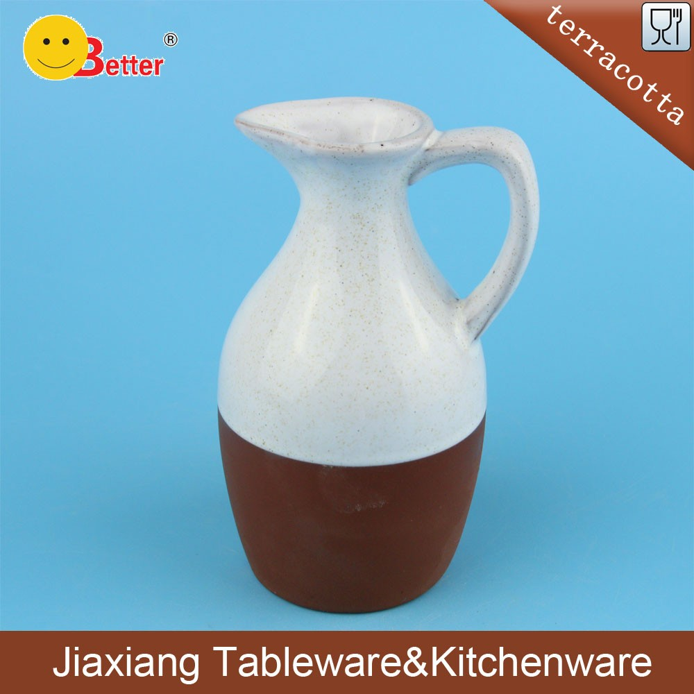 Wholesale Terracotta olive oil and vinegar bottler