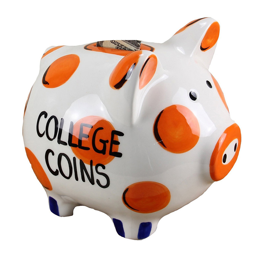 Young's Ceramic Wholesale Large Money Piggy Bank,Save Money Pig Box
