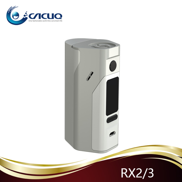 100% Authentic Newest Wismec Reuleaux Rx2/3 Mod Upgraded Rx 200s ...