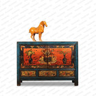2015 hot sell living room cabinet Chinese antique furniture hand painted furniture