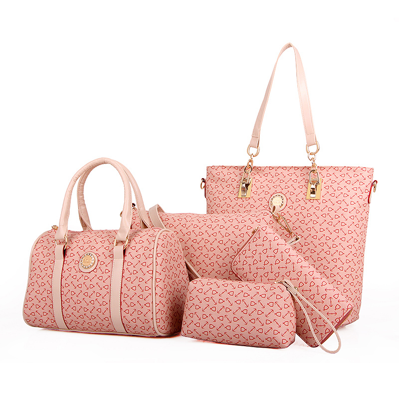 00ae907135 E1081made china wholesale handbags collection women 6 in 1 bags and clutches