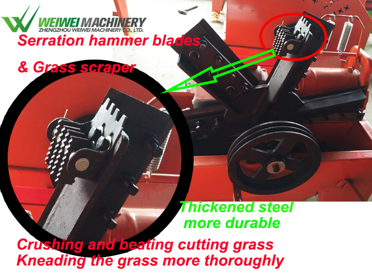 Animal feed grinder grasschopper hay making chaffcutter in australia