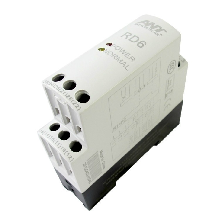 Voltage Monitoring Relay,3 Phase Circuit Protection Voltage Monitoring Relay Phase Failure Sequence Protector